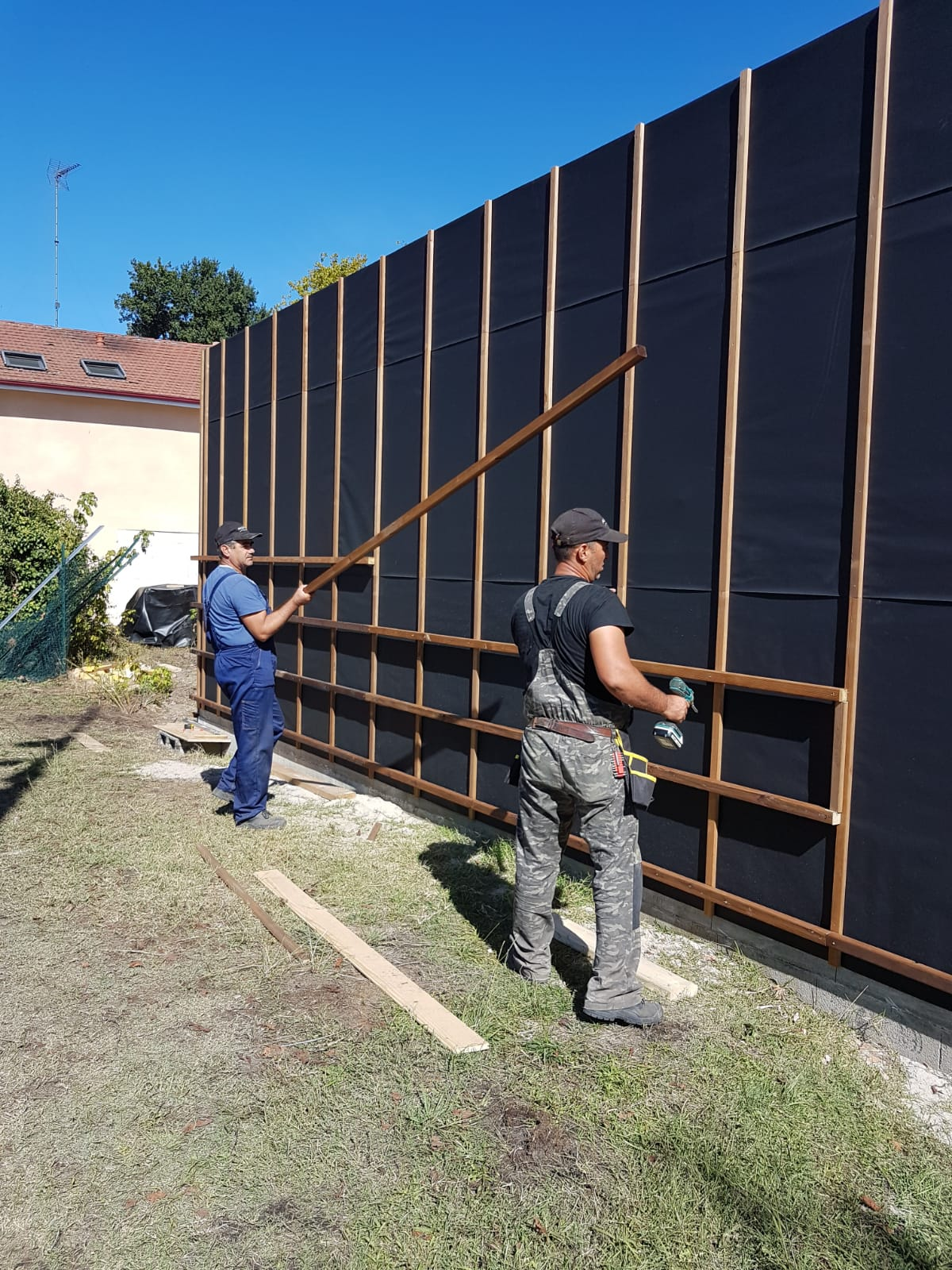 Constructie case lemn Franta