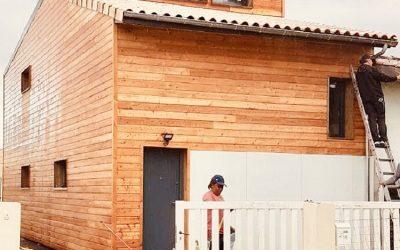 Casa modulara din lemn de 150mp in Pessac, Franta