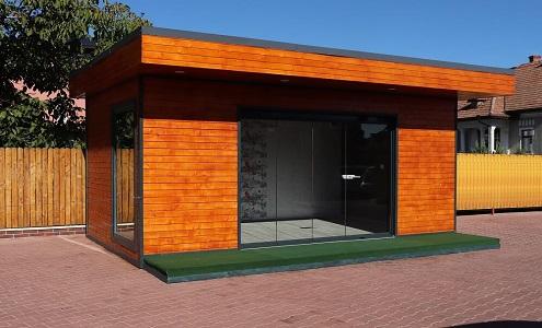 Birou case de lemn